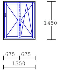 Prezzi serramenti ed infissi in legno fornitura for Finestre velux misure standard