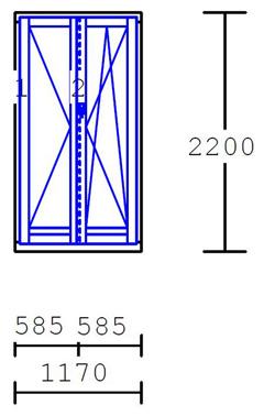 Prezzi serramenti in pvc fornitura serramenti e posa in for Serramenti prezzi