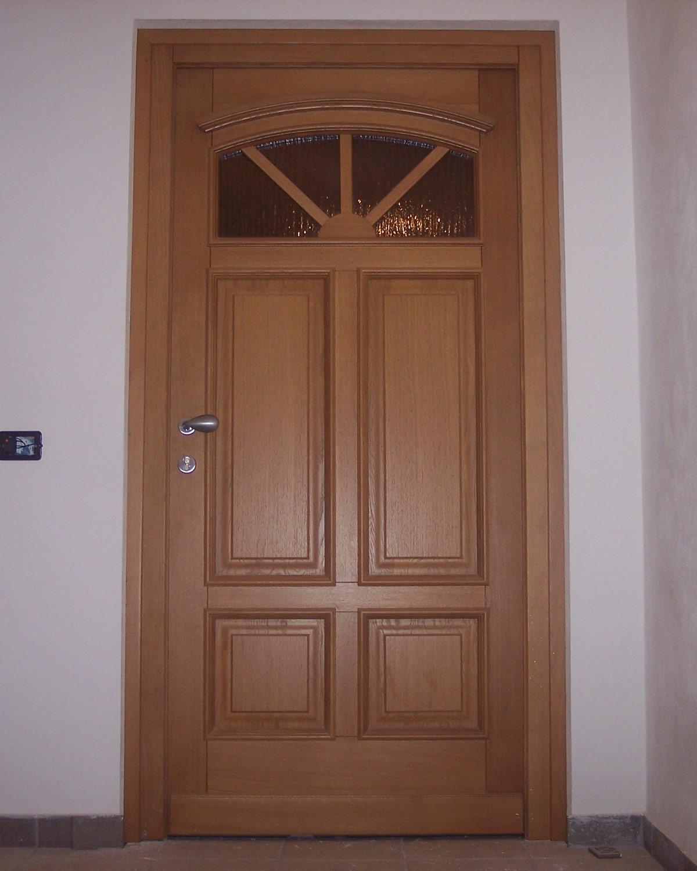 Porte ingresso legno dg81 regardsdefemmes - Porte e finestre in legno prezzi ...