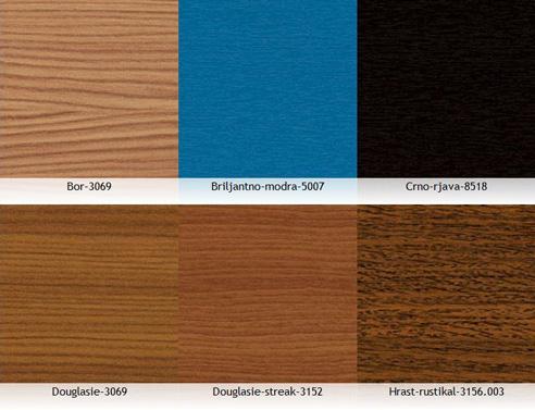 Serramenti in pvc tinte disponibili team legno for Serramenti in pvc brescia prezzi